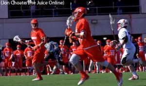 Syracuse versus St. John's lacrosse