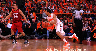 Syracuse guard Michael Carter-Williams against Louisville