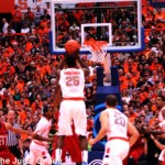 Syracuse forward Rakeem Christmas shoots