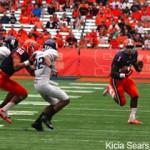 Ashton Broyld runs the ball