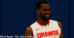 James Southerland is all smiles for the season