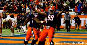 After today's win the Orange remains eligible for a bowl game