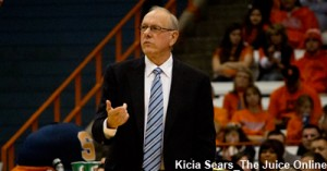 """If you're playing a slow-paced game, you can't miss 16 free throws."" - Boeheim"