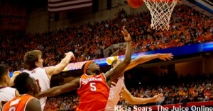 Syracuse Forward CJ Fair had an off game in Syracuse's first loss of the season