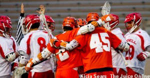 Junior Randy Staats scored 5 goals to carry the Orange past Cornell