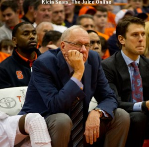 Coach Jim Boeheim reportedly supports the ban.