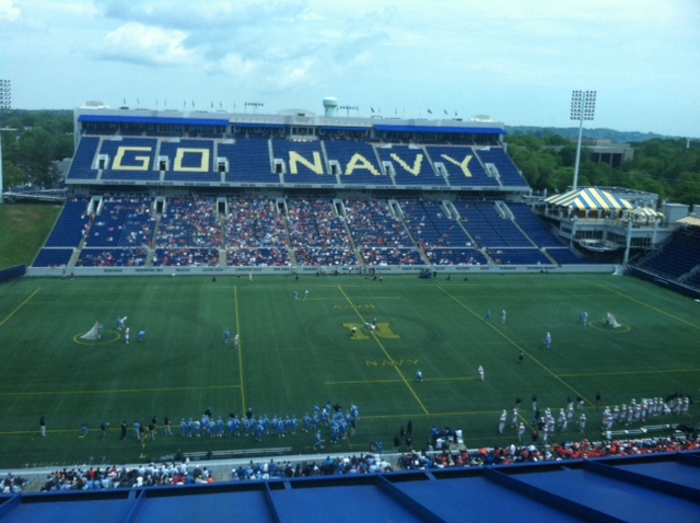 Syracuse and Johns Hopkins met for the 13th time in the NCAA Tournament Sunday in a game played at Annapolis, Md.