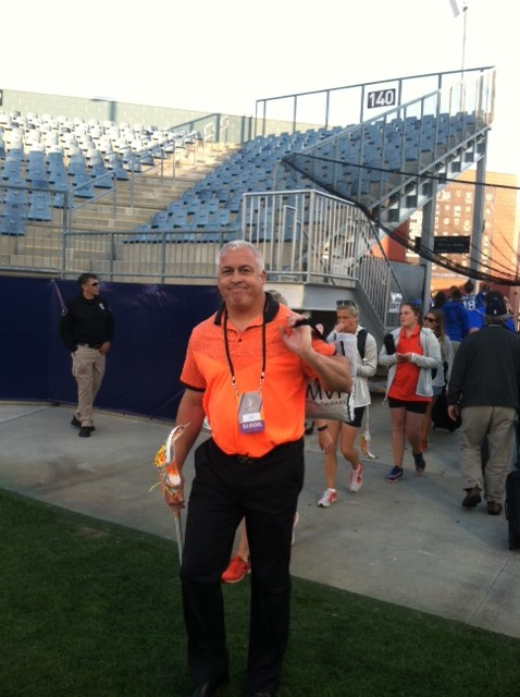 Coach Gary Gait and the SU women's lacrosse team upset No. 1 Maryland Fri night in he NCAA semifinals