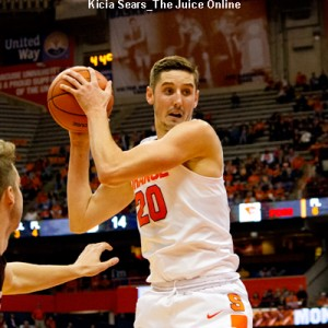 Freshman Tyler Lydon is expected to make an impact on the boards this season.