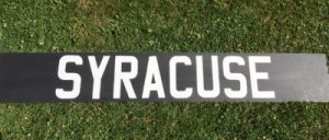 Syracuse Sign