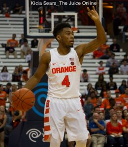 Syracuse Basketball Easily Dispatches Colgate In 2016 17 Opener