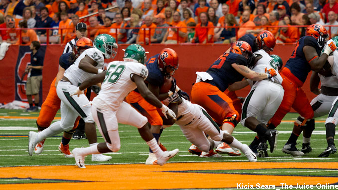 Syracuse football Wagner