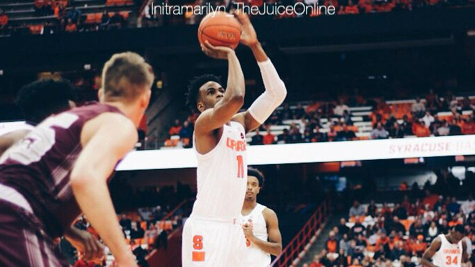 Syracuse forward Oshae Brissett