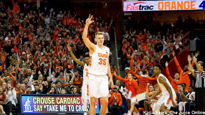 Who Will Lead The Orange In Scoring 2019 Syracuse