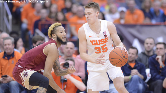 Syracuse Basketball Shrugs Off Late Rally From Boston College The