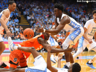 NCAA Basketball: Syracuse at North Carolina
