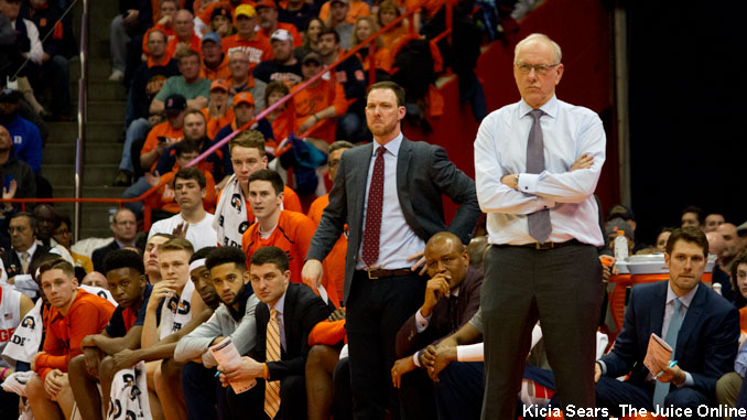 Syracuse coaches