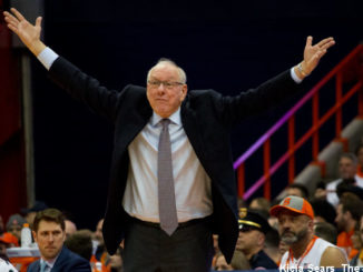 Syracuse coach Jim Boeheim