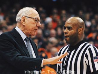 Syracuse head coach Jim Boeheim