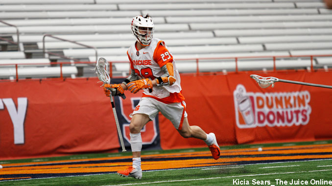 Syracuse attackman Stephen Rehfuss