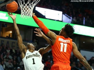 NCAA Basketball: Syracuse at Wake Forest