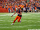Syracuse tight end Aaron Hackett