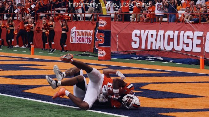 Syracuse Orange wide receiver Trishton Jackson
