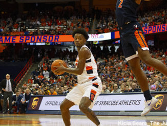 Syracuse Orange forward Elijah Hughes
