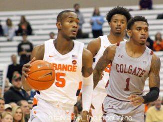 Syracuse Orange guard Jalen Carey