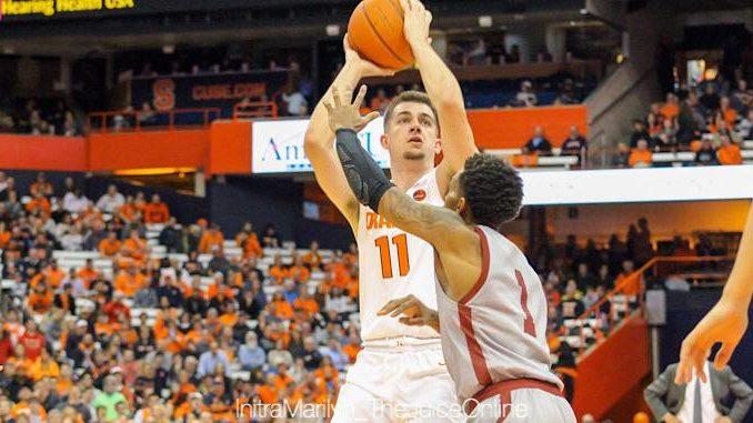 Syracuse Orange guard Joe Girard III