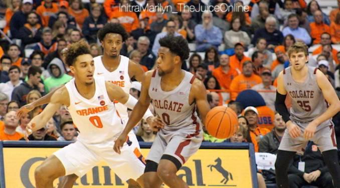 Syracuse Orange guard Brycen Goodine
