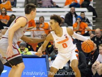 Syracuse guard Brycen Goodine