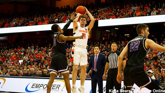 Syracuse Basketball Tops Niagara In Final Non Conference