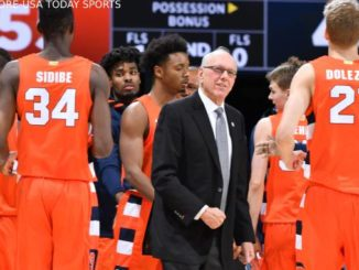 Syracuse Orange head coach Jim Boeheim