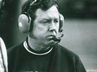 Former Syracuse football coach Frank Maloney