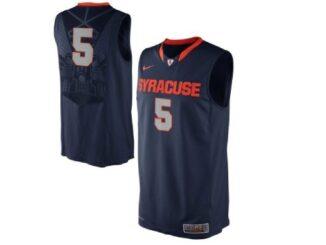 Syracuse basketball's alternate blue jerseys