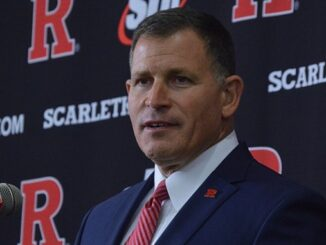 Rutgers Football Head Coach Greg Schiano